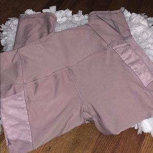 Blush RBX athletic leggings